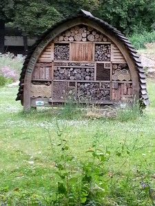 An Insect Hotel in France